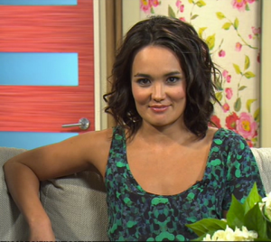 Yumi Stynes Image Source: Channel Ten